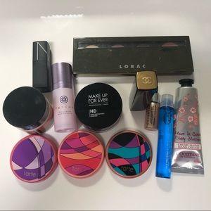 Makeup bundle Chanel NARS Tatcha Tarte Lorac MUFE